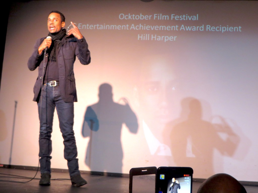 Best Entertainment Achievment Award Hill Harper