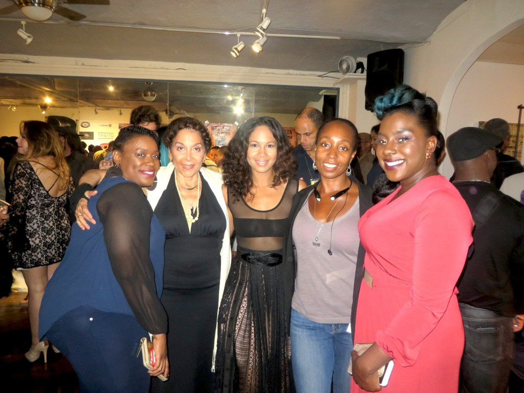 Karen with Ladies of Cast from Where Hearts Lie