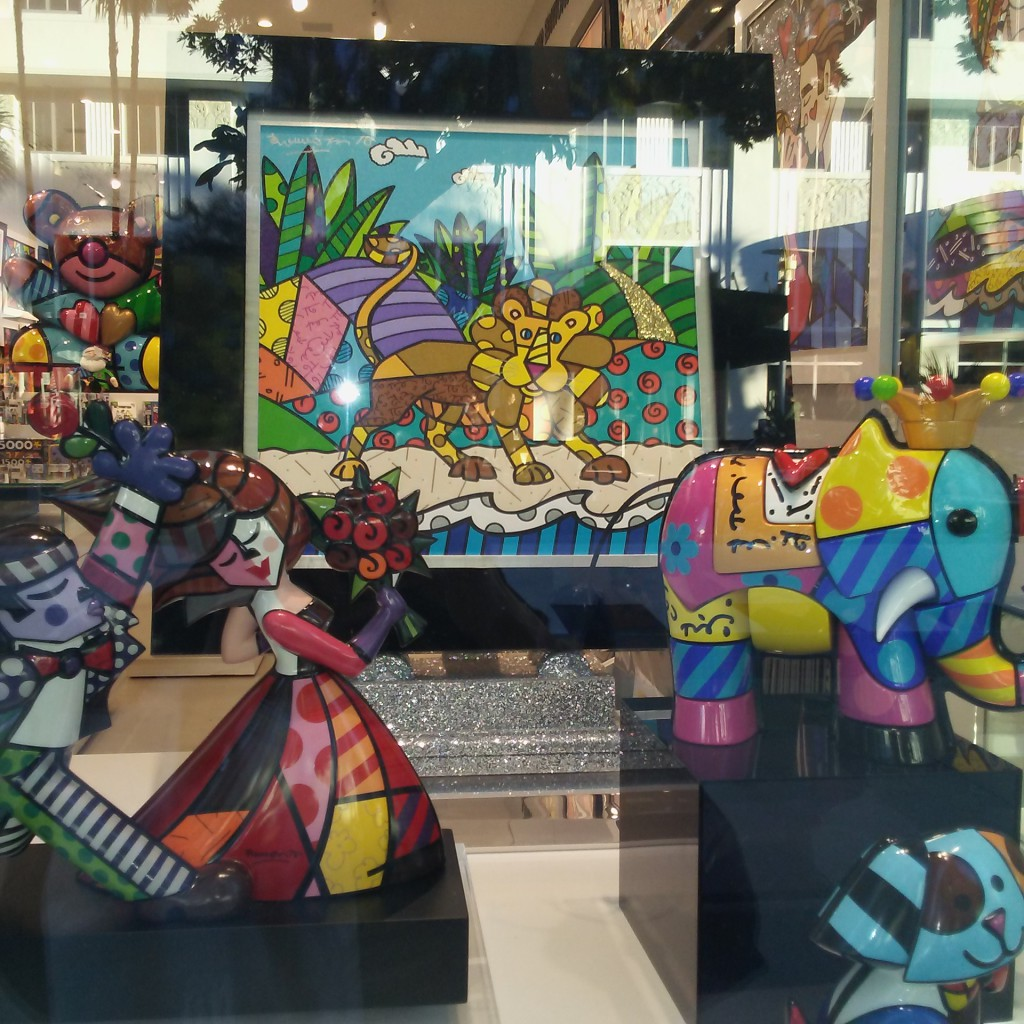 Britto Art showcase