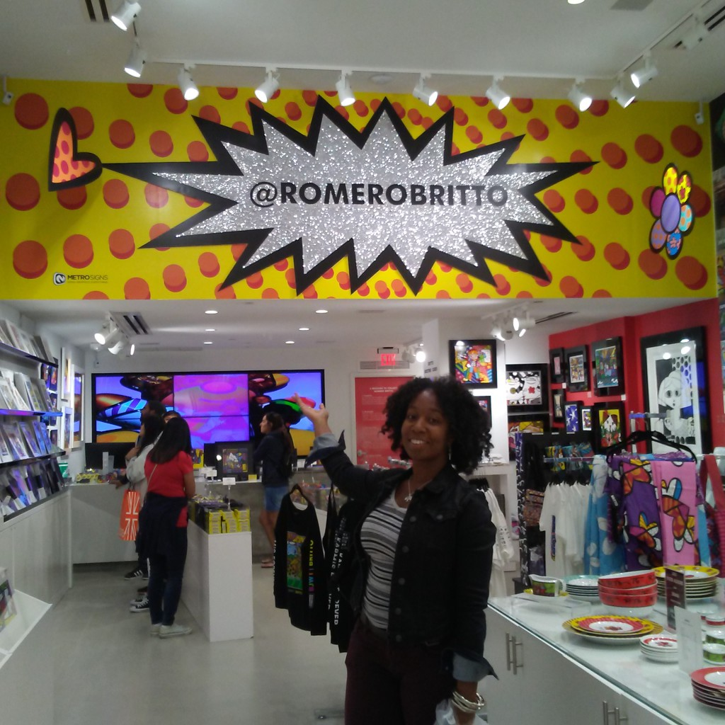 Karen at Britto